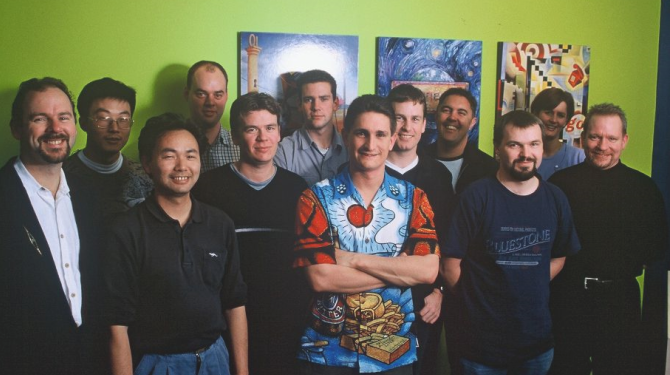 ActiveDocs Team in the early 2000s.