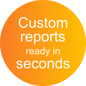 Custom reports ready in seconds with ActiveDocs Document Automation Software