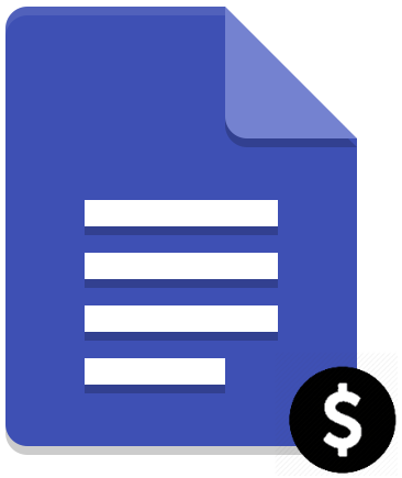 Document value icon
