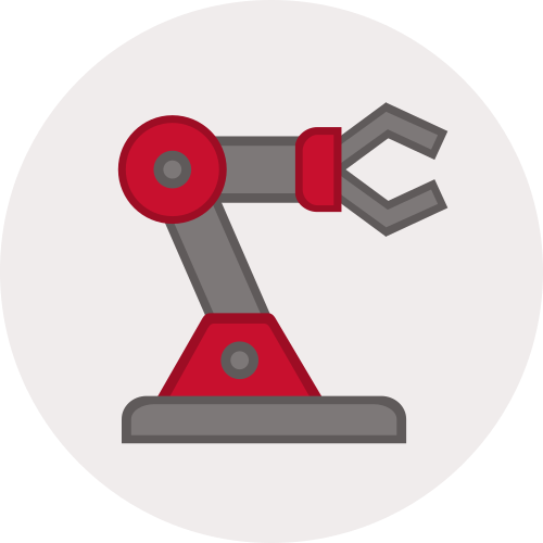Assembly robot icon