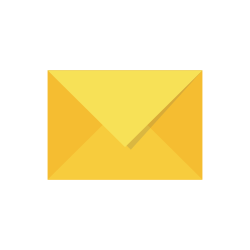 Icon of a yellow envelope